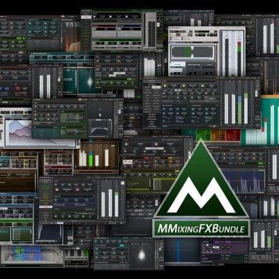 MELDA MMixingFXBundle interfaces collage