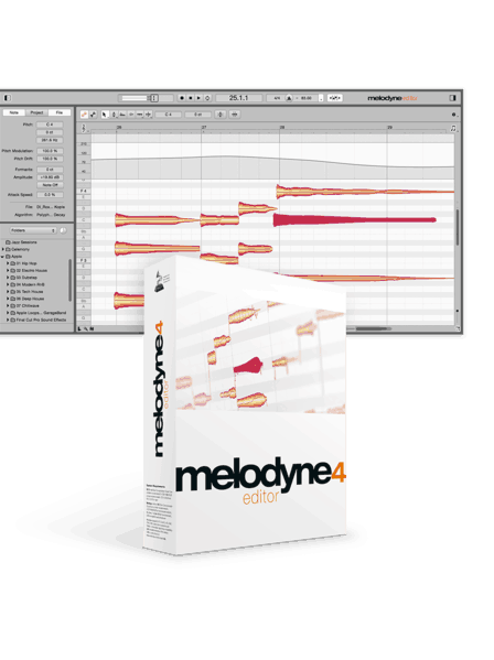 MELODYNE Melodyne Editor 4 box