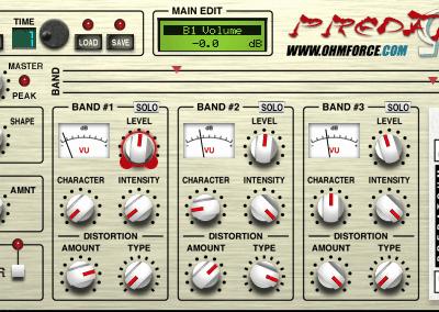 OHM Force Predatohm interface