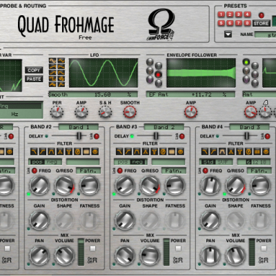 OHM Force Quad Frohmage 4-band sonic chisel interface