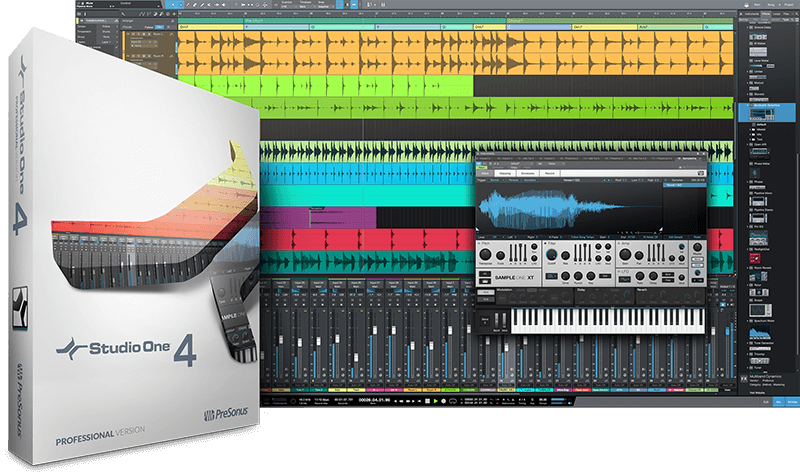 PRESONUS Studio One 4 Professional box