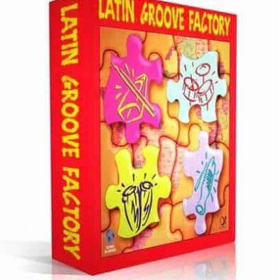 Q Up Arts LATIN GROOVE FACTORY V1 AFRO CUBAN LOGIC EXS box