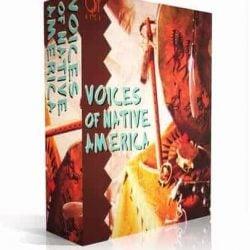 Q Up Arts VOICES OF NATIVE AMERICA V1 APPLE LOGIC EXS box