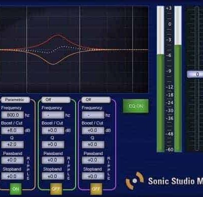 SONIC STUDIO Sonic Studio Mastering EQ photography