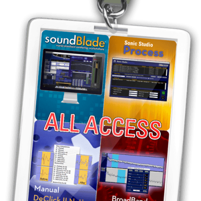 SONIC STUDIO soundBlade All Access LE photography