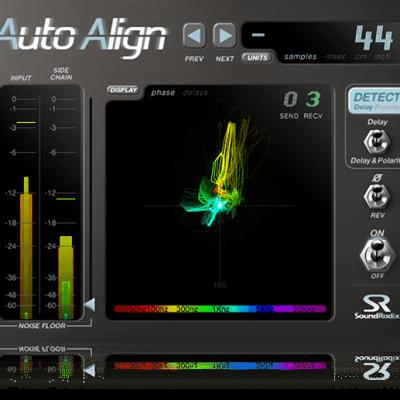 Sound Radix Auto-Align interface