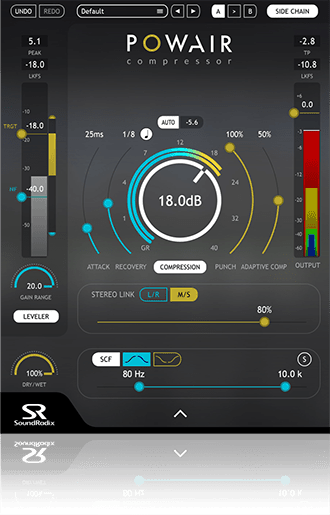 Sound Radix POWAIR interface