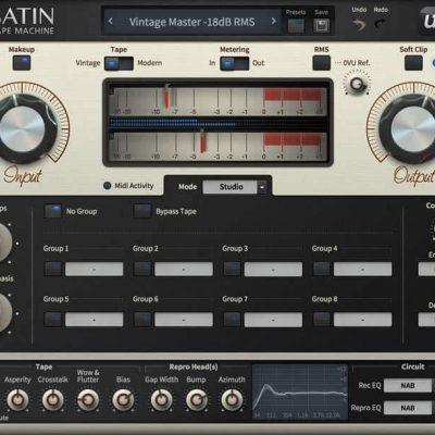 u-he Software u-He Satin interface