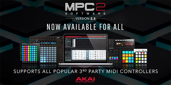 Akai MPC 2.5